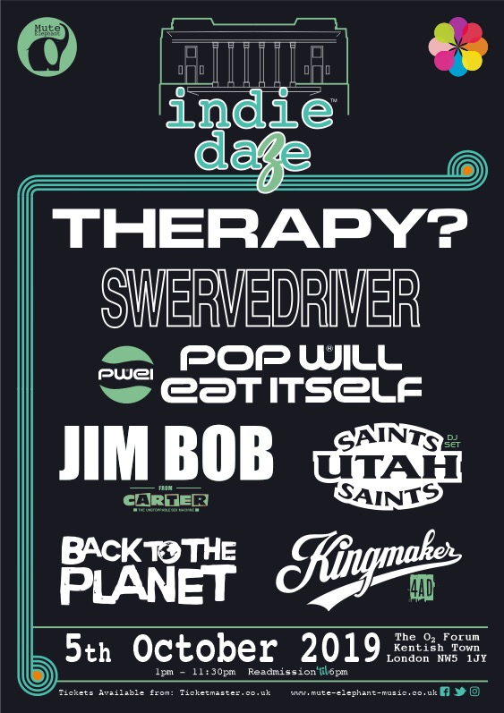 Indie Daze at The Forum line-up