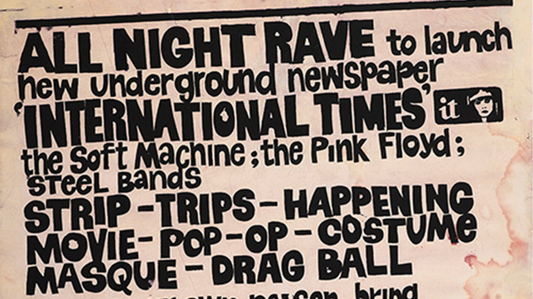 All Night Rave poster
