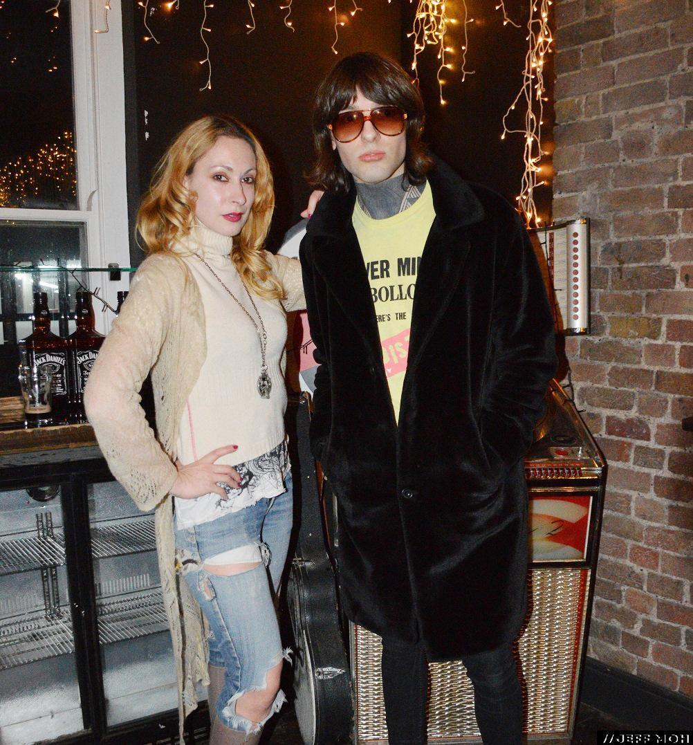 Simona and Daland at The Hawley Arms