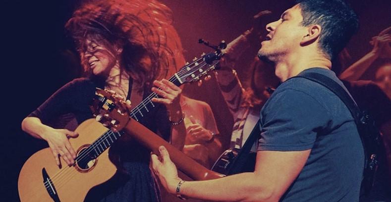 Rodrigo y Gabriela on FB Live 08 April