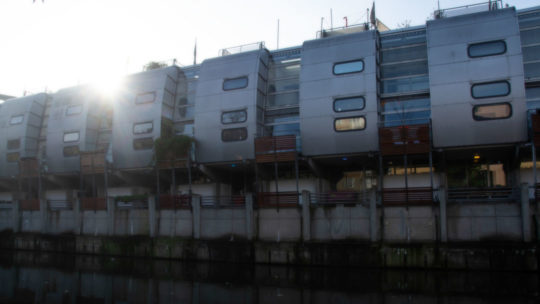70's Pods on the canal