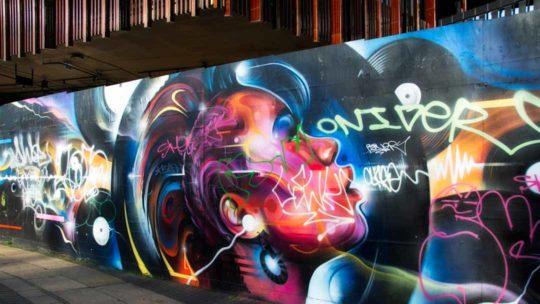 Grafitti near the Regents Lock