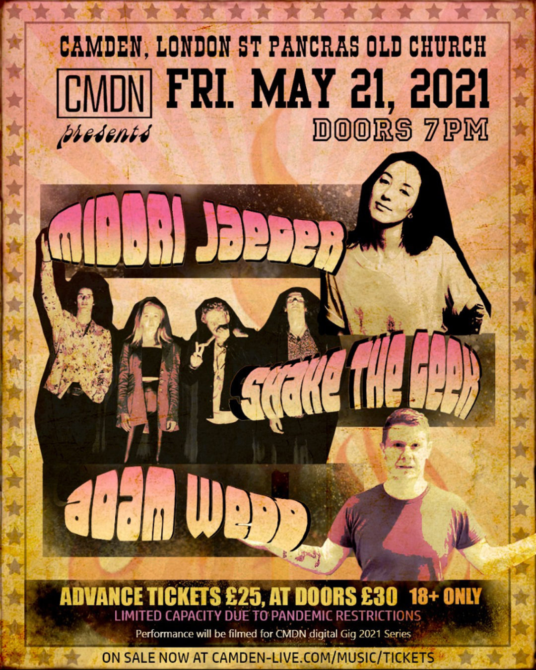 Shake the Geek - Midori Jaeger - Adam Wedd Play Live May 21