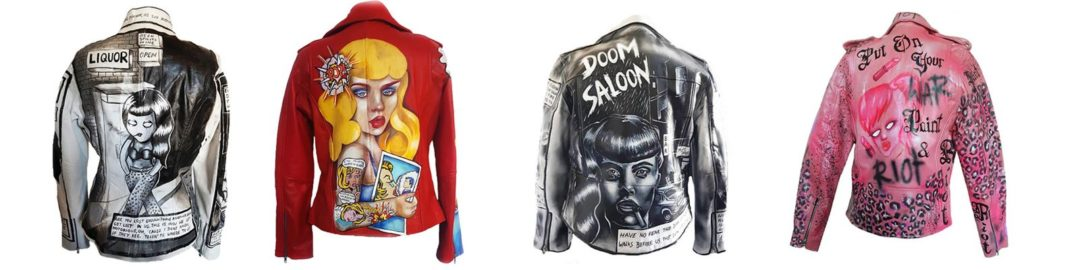 Jackets by Kate Lomax. Source: facebook