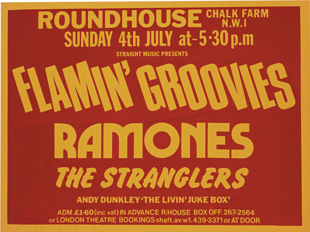 The Ramones: White Hot at The Roundhouse