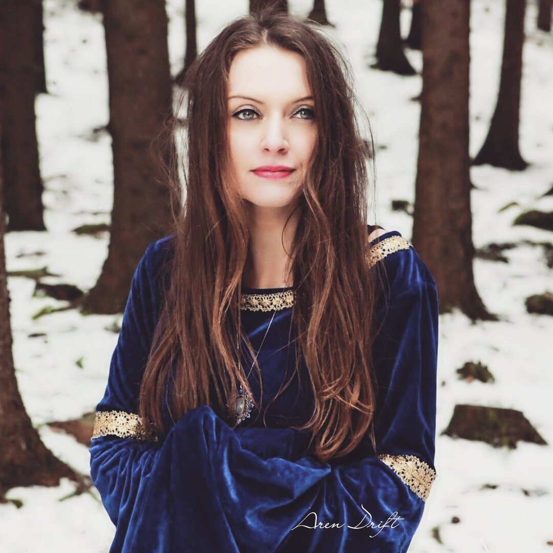 Radka Nemcova the snow queen herself.